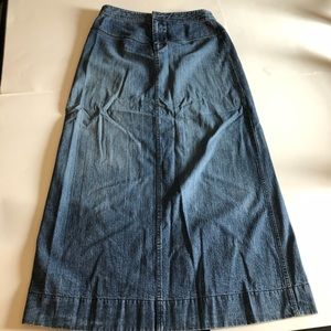 CBanana Republic Long Denim skirt 6